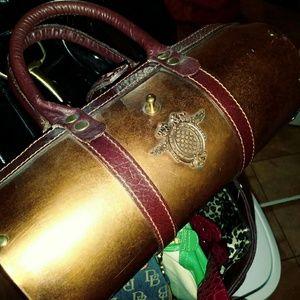 Vintage copper handbag